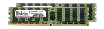 Picture of 128GB Kit (2x64GB)  LRDIMM DDR4 2666 ECC Registered Memory 288-pin (4Rx4)