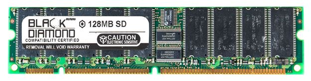 Picture of 128MB  SDRAM PC100 ECC Memory 168-pin (1Rx8)
