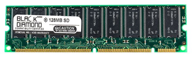 Picture of 128MB  SDRAM PC100 ECC Registered Memory 168-pin (1Rx4)