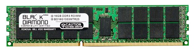 Picture of 16GB DDR3 1333 (PC3 10600) ECC Registered Memory 240-pin (4Rx4)