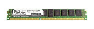 Picture of 16GB DDR3 1333 (PC3-10600) ECC Registered VLP Memory 240-pin (2Rx4)