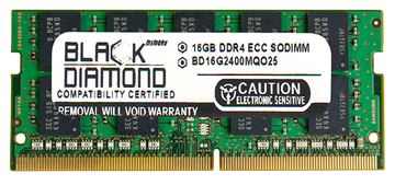 Picture of 16GB DDR4 2400 ECC SODIMM Memory 260-pin (2Rx8)