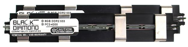 Picture of 16GB Kit (2x8GB) DDR2 533 (PC2-4200) Apple Fully Buffered Memory 240-pin (2Rx4)