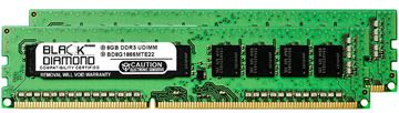 Picture of 16GB Kit (2x8GB) DDR3 1866 (PC3-14900) ECC Memory 240-pin (2Rx8)