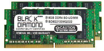 Picture of 16GB Kit (2x8GB) DDR4 2133 ECC SODIMM Memory 260-pin (2Rx8)