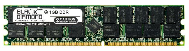 Picture of 1GB DDR 333 (PC-2700) ECC Registered Memory 184-pin (2Rx4)