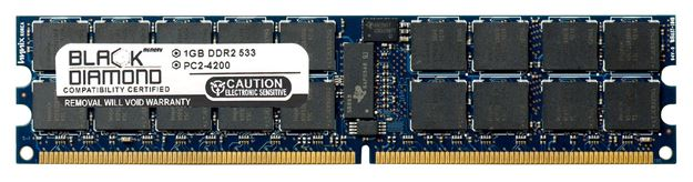Picture of 1GB DDR2 533 (PC2-4200) ECC Registered Memory 240-pin (2Rx4)