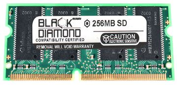 Picture of 256MB SDRAM PC133 SODIMM Memory 144-pin (2Rx8)