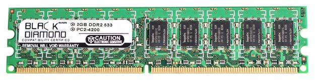 Picture of 2GB DDR2 533 (PC2-4200) ECC Memory 240-pin (2Rx8)
