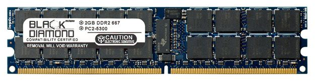 Picture of 2GB DDR2 800 (PC2-6400) ECC Registered Memory 240-pin (2Rx4)