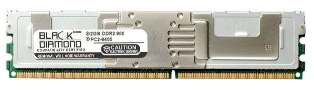 Picture of 2GB DDR2 800 (PC2-6400) Fully Buffered Memory 240-pin (2Rx4)