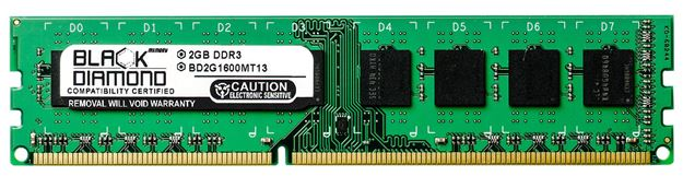 Picture of 2GB DDR3 1600 (PC3-12800) Memory 240-pin (2Rx8)