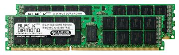Picture of 32GB Kit (2x16GB) DDR3 1333 (PC3 10600) ECC Registered Memory 240-pin  (2Rx4)