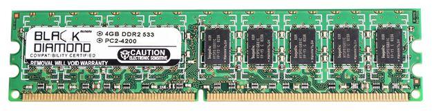 Picture of 4GB DDR2 533 (PC2-4200) ECC Memory 240-pin (2Rx8)
