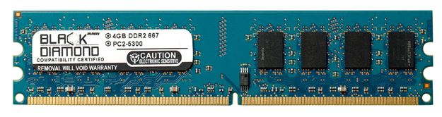 Picture of 4GB DDR2 667 (PC2-5300) Memory 240-pin (2Rx8)