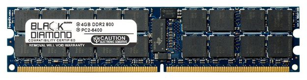 Picture of 4GB DDR2 800 (PC2-6400) ECC Registered VLP Memory 240-pin (2Rx4)