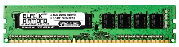 Picture of 4GB DDR3 1066 (PC3-8500) ECC Memory 240-pin (2Rx8)
