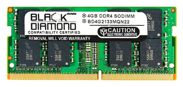 Picture of 4GB DDR4 2133 SODIMM Memory 260-pin (2Rx8)