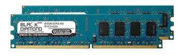 Picture of 4GB Kit (2x2GB) DDR2 533 (PC2-4200) Memory 240-pin (2Rx8)