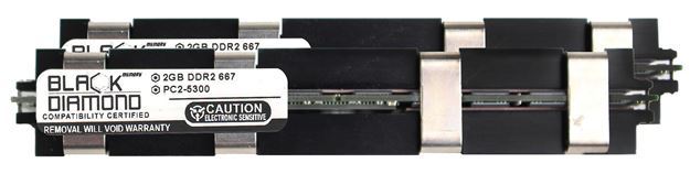 Picture of 4GB Kit (2x2GB) DDR2 667 (PC2-5300) Apple Fully Buffered Memory 240-pin (2Rx4)