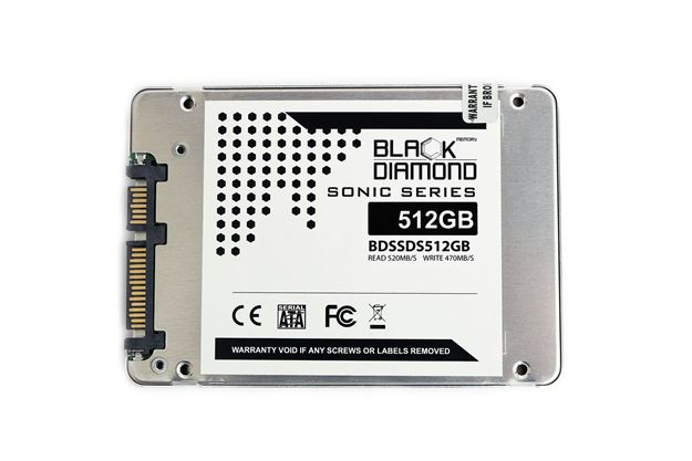 Picture of 512GB Sonic Series SSD 2.5 inch W/R:520/460MB