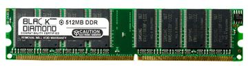 Picture of 512MB (2Rx8) DDR 266 (PC-2100) Memory 184-pin