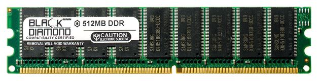 Picture of 512MB (2Rx8) DDR 400 (PC-3200) ECC Memory 184-pin
