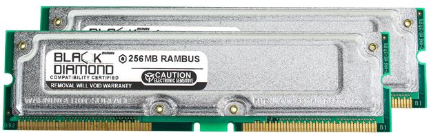 Picture of 512MB Kit(2X256MB) PC800 40ns ECC Memory 184-pin