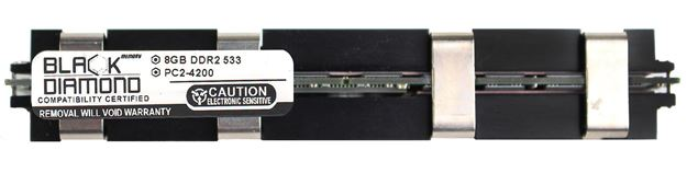 Picture of 8GB DDR2 800 (PC2-6400) Fully Buffered Memory 240-pin (1Rx4)