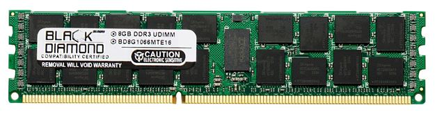 Picture of 8GB DDR3 1066 (PC3-8500) ECC Registered Memory 240-pin (4Rx8)