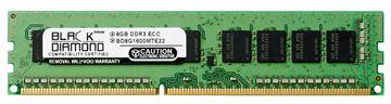 Picture of 8GB (2Rx8) DDR3 1600 (PC3-12800) ECC Memory 240-pin