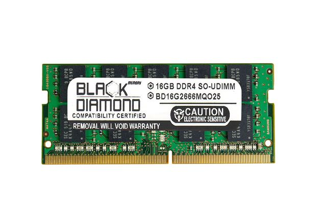 Picture of 16GB DDR4 2666 ECC SODIMM Memory 260-pin (2Rx8)