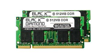 Picture of 1GB Kit(2X512MB) DDR 400 (PC-3200) SODIMM Memory 200-pin (2Rx8)