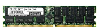 Picture of 4GB DDR 266 (PC-2100) ECC Registered Memory 184-pin (2Rx4)