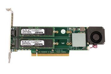 Picture of 2TB NVMe (2X1TB) Raid 0 PCIe Gen3 SSD