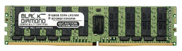 Picture of 128GB (1X128GB) DDR4 2133 RDIMM ECC Registered Memory 288-pin (4Rx4)
