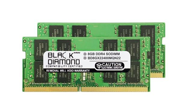 Picture of 16GB Kit (2x8GB) DDR4 2400 SODIMM Memory 260-pin (2Rx8)
