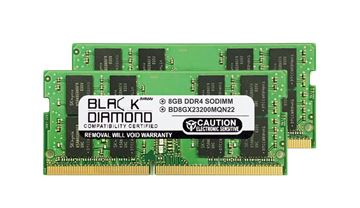 Picture of 16GB Kit (2x8GB) DDR4 3200 SODIMM Memory 260-pin (2Rx8)